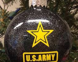 army ornaments etsy