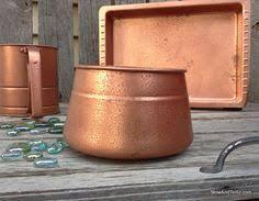 spray paint faux hammered copper paint texture stowandtellu com