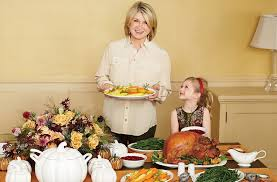 that time martha stewart thanksgiving