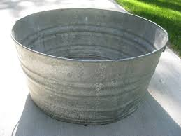 Antique Galvanized Bathtub Old Metal Bathtubs For Sale Laura Williams