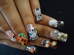 40 scary 3d halloween nail art designs nail design ideaz