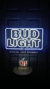 bud light lighted sign bud light neon sign electronics in los angeles ca offerup