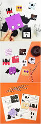 free printable halloween fun cards for kids with coloring option