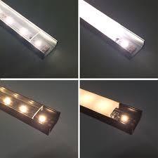 u01 9x23mm u shape internal profile width 12mm led aluminum