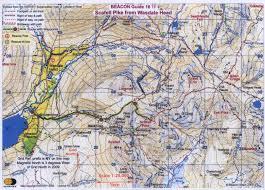 Lake District England Map by Www Zigeiner De Snowdon 1085m Wales U0026 Scafell Pike 978m
