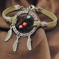 aliexpress buy new arrival cool charm vintage 1pc vintage mini dreamcatcher bracelet handmade catcher net