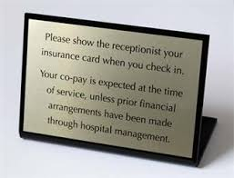 custom office desk signs appointment signs medical desk signs medical office signs