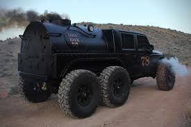 road hauks steam powered jeep jk 6x6 u0027loco hauk u0027 hiconsumption