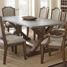 Zinc Top Bistro Table Zinc Coffee Table Coffee Table Universal Lighting And Decor Axel