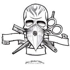 dominican barber logo sketch by stevegolliotvillers on deviantart