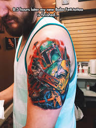 boba fett tattoo the meta picture