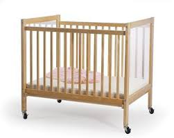 foundations 1031042 hideaway compact folding crib for churches