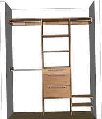 5 ft closet organizer kit home design ideas