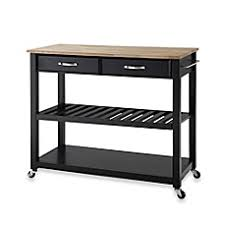 wheeled kitchen island kitchen carts portable kitchen islands bed bath beyond