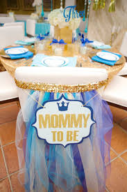 Baby Shower Centerpieces For A Boy by 23 Best Light Blue U0026 Gold Baby Shower Images On Pinterest Prince