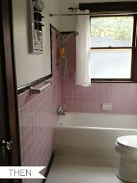pink tile bathroom ideas everything is new again pink tile in the bathroom then now