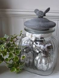 Metal Containers With Lids For Storage - bird topped 12 in apothecary jar with metal lid 27 bird themed
