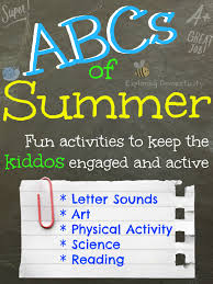 abcs of summer summer activities for preschoolers letter e