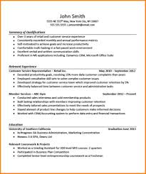 Customer Service Sales Cv Examples 9 Resume Examples For Beginners Resume Emails