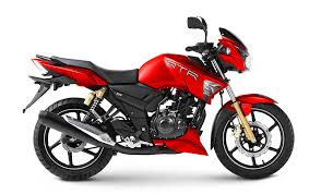 tvs apache rtr 160 rtr 180 gets syrah matte red color https