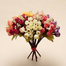 compare prices on silk flowers home decor online shopping buy low