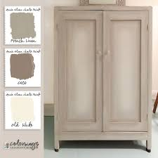 White Vintage Armoire Colorways May 2015