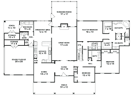 house plans one floor 1 story 5 bedroom house plans impressive ideas 5 bedroom house plans