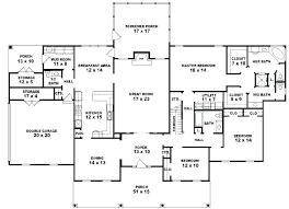 one floor house plans 1 story 5 bedroom house plans impressive ideas 5 bedroom house