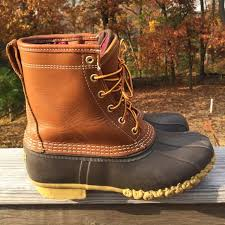 ll bean duck boots womens size 9 21 l l bean shoes s l l bean 8 tex thinsulate