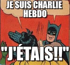 Slappin Batman Meme Generator - je suis charlie hebdo batman robin gifle meme on memegen
