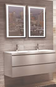 Modern Bathroom Vanity Unit Wall Hung White Basin Sink Cabinet - Bathroom basin and cabinet 2