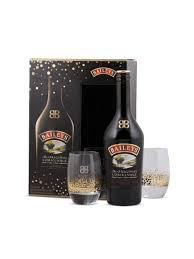 baileys gift set baileys original with 2 glasses gift set 750ml