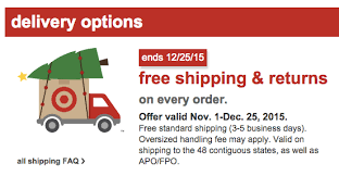 target black friday faq target com free shipping on all orders through christmas day
