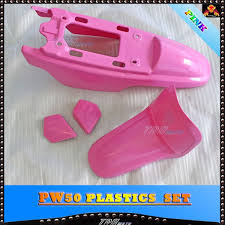 for peewee pw py 50 py50 pw50 pink plastics seat fuel tank