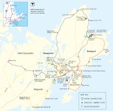 Boston Mbta Bus Map by Cape Ann Transportation Authority