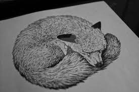 ink fox tattoo design by tarin moore on deviantart