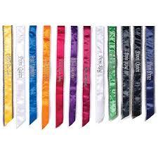 custom sash bling edge custom sash s