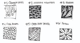 pattern ideas simple zentangle ideas to inspire you