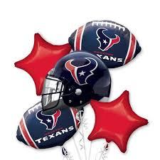 balloon bouquet houston houston texans jersey balloon bouquet 5pc houston texans baby
