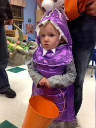 Boo Monsters Inc Halloween Costume by Lulu Mom Halloween Fun