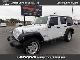 used jeep rubicon 2013 used jeep wrangler unlimited 4wd 4dr sport at landers