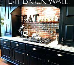 kitchen backsplash pinterest brick kitchen backsplash l shaped with metal mosaic stainless steel