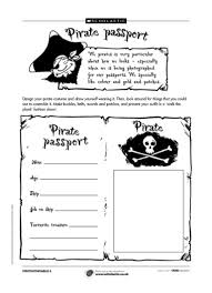 help children to create their own pirate passports a great