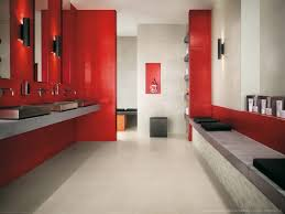 Gray And Red Bathroom Ideas - bathroom design marvelous red white and blue bathroom red and