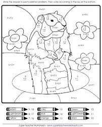 Groundhog Coloring Page Image Source Free Able Groundhog Day Groundhog Color Page