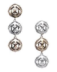 grande earrings grande orecchino 3 elementi earrings women grande