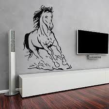 aliexpress com buy dctop new design horse wall sticker living