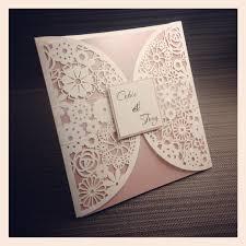 top dwf in the grove laser cut invitation has laser cut wedding