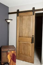 Interior Barn Door Hardware Wall Mount Sliding Door Hardware In Glass Material Ideas