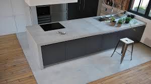 plan de travail cuisine beton impressionnant plan travail cuisine beton cire 1 entretenir un